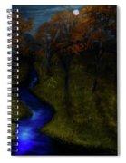 Midnight Forest Spiral Notebook
