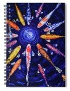 Midnight Gathering Spiral Notebook