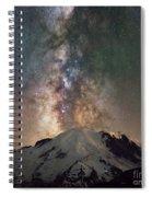 Midnight Hike  Spiral Notebook