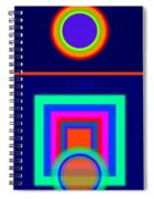 Midnight Journey Spiral Notebook