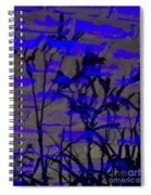 Midnight Lillies Spiral Notebook