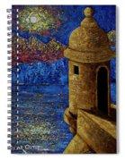 Midnight Mirage In San Juan Spiral Notebook