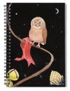 Midnight Owl Spiral Notebook