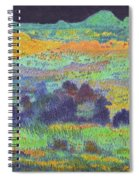 Midnight Prairie Dream Spiral Notebook