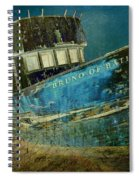 Midnight Shipwreck Spiral Notebook