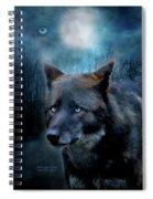 Midnight Spirit Spiral Notebook