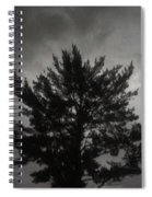 Midnight Storm Spiral Notebook