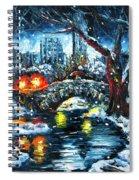 Midnight Stroll On The Gapstow Spiral Notebook