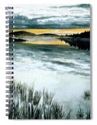 Midnight Sun Spiral Notebook