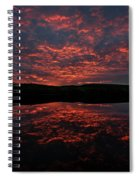 Midnight Sun In Norbotten Spiral Notebook