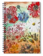Midsummer Delight Spiral Notebook
