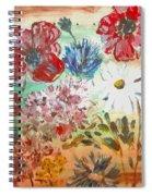 Midsummer Delight Spiral Notebook