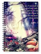 Midsummer Night Dream Spiral Notebook