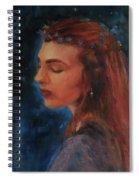 Midsummer Night Fairy Spiral Notebook
