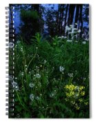 Midsummer Night's Magic Spiral Notebook
