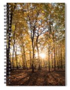 Midwest Forest Spiral Notebook
