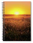 Midwest Sunset Spiral Notebook