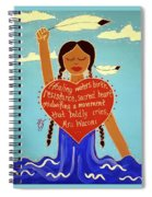 Midwives Of Standing Rock Spiral Notebook