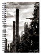 Mighty Bethlehem Steel Spiral Notebook