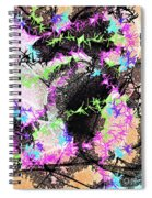 Mighty Mouse - Abstract Spiral Notebook