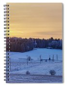 Mihari Sunset Spiral Notebook