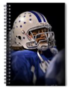 Mike Glass Spiral Notebook