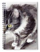 Mike Mice Catcher Spiral Notebook