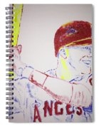 Mike Trout Spiral Notebook