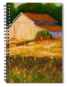 Mike's Barn Spiral Notebook