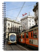 Milan Trolley 4 Spiral Notebook