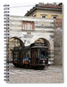 Milan Trolley 5 Spiral Notebook