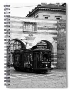 Milan Trolley 5b Spiral Notebook