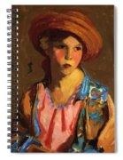 Mildred O Hat Spiral Notebook