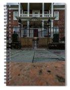 Miles Brewton House Circa 1765 Spiral Notebook