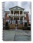 Miles Brewton House Spiral Notebook