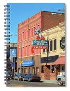 Miles City, Montana - Downtown Casino 2 Spiral Notebook