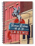 Miles City, Montana - Downtown Casino Spiral Notebook