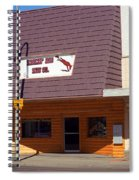 Miles City, Montana - Downtown Spiral Notebook