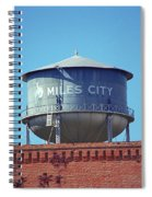 Miles City, Montana - Water Tower Spiral Notebook