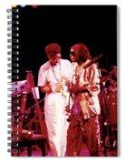 Miles Davis Image 10 And Bob Berg 1985 Your Under Arrest Tour Spiral Notebook