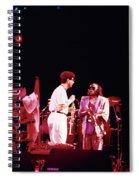 Miles Davis Image 9  With Bob Berg  Spiral Notebook