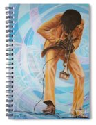 Miles Davis  In A Yellow Suit Spiral Notebook