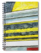 Miles To Go I Spiral Notebook