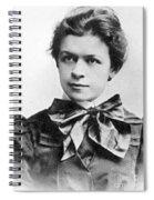 Mileva Maric (1875-1948) Spiral Notebook