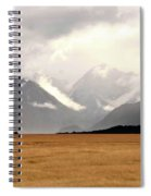 Milford Sound Mountains On South Island New Zealand Spiral Notebook