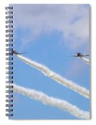 Military Planes Spiral Notebook
