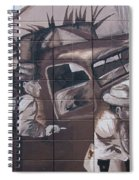 Military Truck Street Art Spiral Notebook