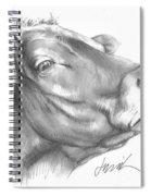 Milk Cow Spiral Notebook