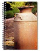 Milk Jug Spiral Notebook