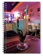 Milkshake  Spiral Notebook